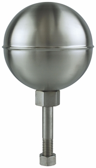 Stainless Steel Satin Finish Outdoor Flagpole Ornament