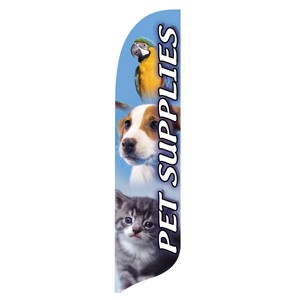 Pet Supplies Blade Flag