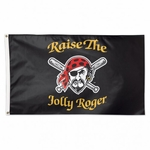 Pittsburgh Pirates Raise the Jolly Roger Flag