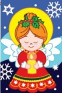 Praying Angel Holiday Flag