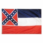 Premium Nylon Outdoor Mississippi State Flags