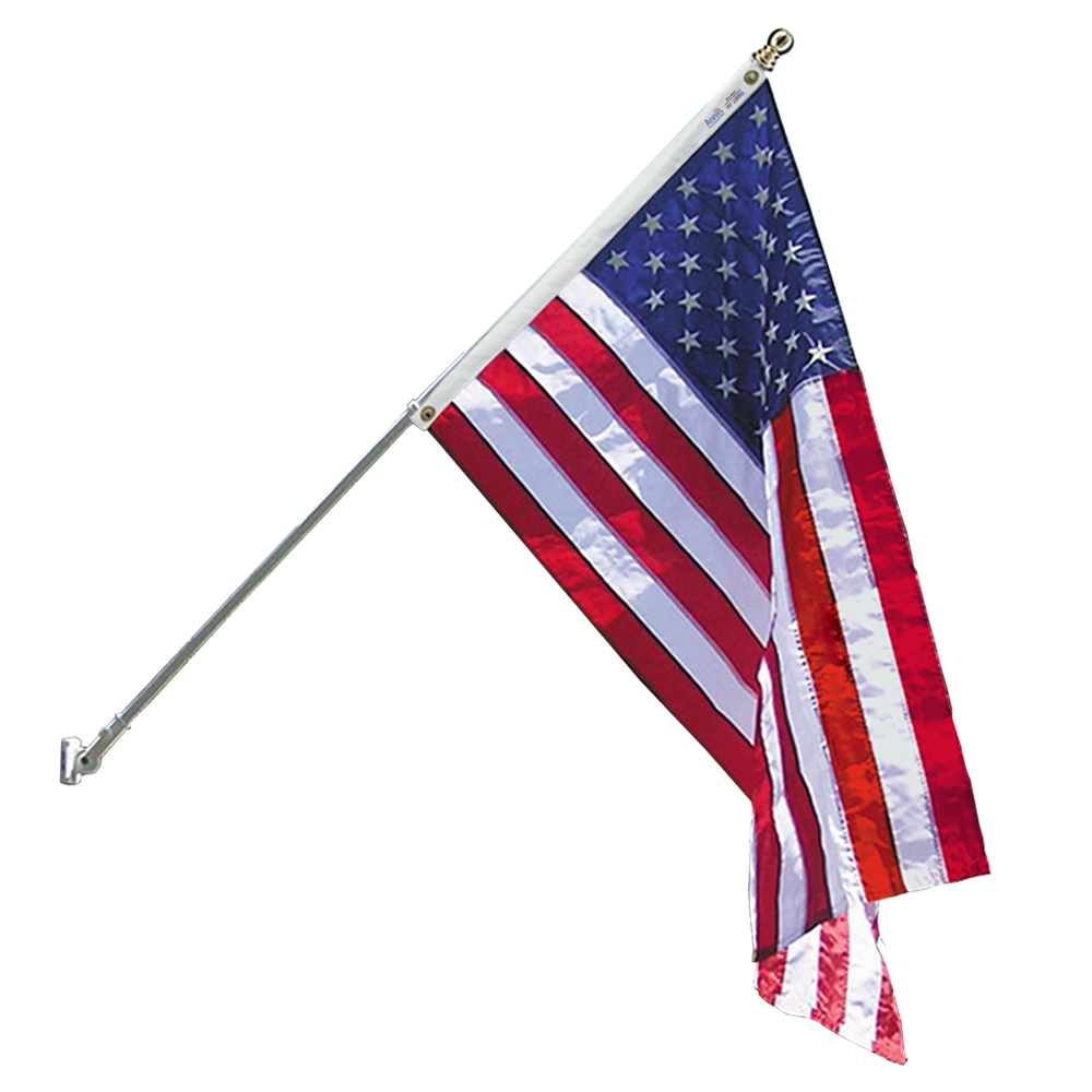 Spinning Pole Us Flag Set