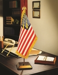 Presidential US Flag Desk Display