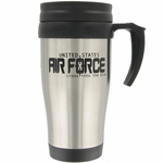Stainless Steel Air Force Mug