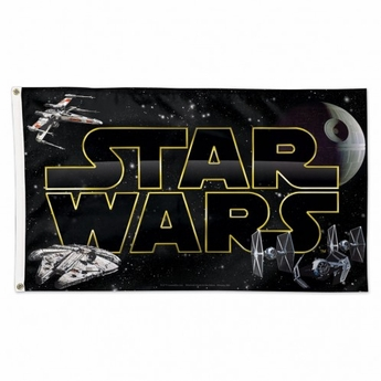 Star Wars / Original Trilogy Deluxe Logo Flag