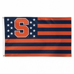 Syracuse University Stars & Stripes Flag