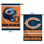 Two-Sided Chicago Bears Vertical Flag
