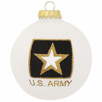 U.S. Army Emblem Christmas Ornament