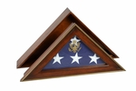 American Hero Handcrafted Flag Case