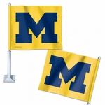 University of Michigan Car Flag