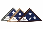 Veteran Commemorative Flag Case - Three Finishes