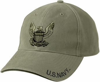 Vintage U.S. Navy Eagle Low Profile Cap