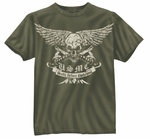 Vintage USMC Death Before Dishonor T-Shirt