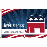 Vote Republican Flag