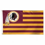 Washington Redskins Americana Flag