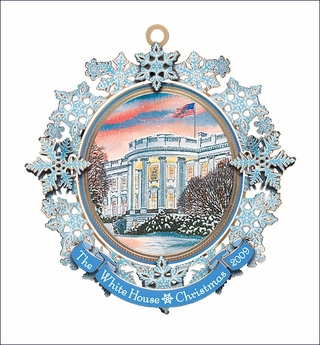 Collectible 2009 White House Christmas Ornament