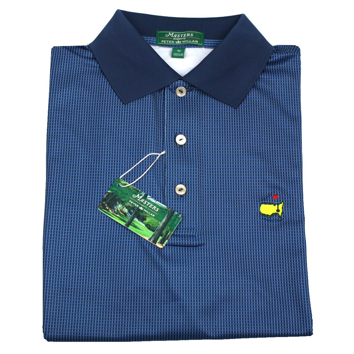 Peter millar clubhouse navy dot new 2014 masters golf shirt for Peter millar women s golf shirts