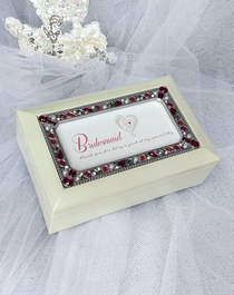 Jeweled Ivory Music Box