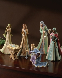 Nativity Set  - 6 Pc Set