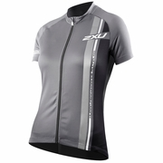 2XU Sublimated Short Sleeve Cycling Jersey - Women's