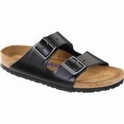 Birkenstock Arizona Soft Footbed Amalfi Leather Sandal - B/C Width