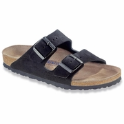 Birkenstock Arizona Soft Footbed Suede Leather Sandal - Unisex - D-EE Width