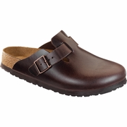 Birkenstock Boston Soft Footbed Amalfi Leather Clog - B/C Width
