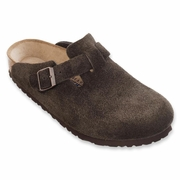 Birkenstock Boston Soft Footbed Suede Leather Clog - Unisex - B-C Width