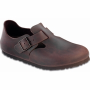 Birkenstock London Oiled Leather Casual Shoe - B/C Width