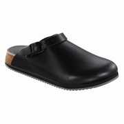 Birkenstock Philadelphia Super Grip Leather Clog