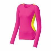 Brooks Nightlife Equilibrium Long Sleeve Running Top - Women's