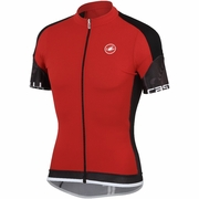 Castelli Entrata Full Zip Short Sleeve Cycling Jersey - Men's