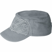 Castelli M Distressed Military Cap