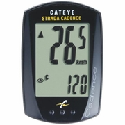 Cateye Strada Cadence Bicycle Computer - Wired