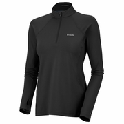 Columbia Midweight Long Sleeve 1/2 Zip Base Layer - Women's