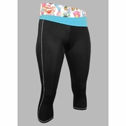 De Soto Carrera Triathlon Capri with Half-Folding Waistband - Women's