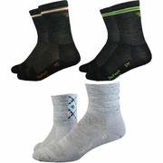 DeFeet WoolEator Hi Top Sock