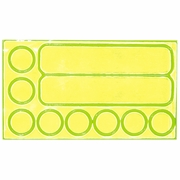 Fuelbelt Reflective Peel and Stick Safety Stickers