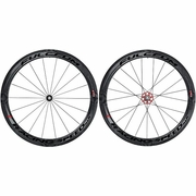 Fulcrum Racing Speed XLR Carbon Tubular Bicycle Wheelset - Dark Label
