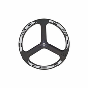 HED H3 Flamme Rouge Carbon Tubular Front Bicycle Wheel