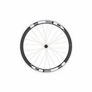 HED Jet 4 Flamme Rouge Clincher Rear Bicycle Wheel - Stallion Build