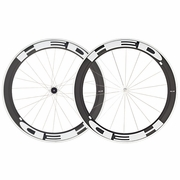 HED Jet 6 Flamme Rouge Clincher Bicycle Wheelset - Stallion Build