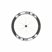 HED Jet 6 Flamme Rouge Clincher Rear Bicycle Wheel - Stallion Build