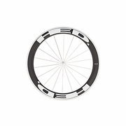 HED Jet 6 Flamme Rouge Tubular Front Bicycle Wheel - Stallion Build