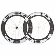 HED Jet 9 Flamme Rouge Clincher Bicycle Wheelset - Stallion Build