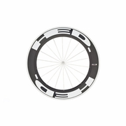 HED Jet 9 Flamme Rouge Tubular Front Bicycle Wheel - Stallion Build
