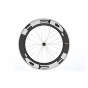 HED Jet 9 Flamme Rouge Tubular Rear Bicycle Wheel - Stallion Build