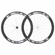 HED Stinger 4 Flamme Rouge Carbon Tubular Bicycle Wheelset