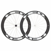 HED Stinger 6 Flamme Rouge Carbon Tubular Bicycle Wheelset