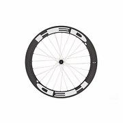 HED Stinger 6 Flamme Rouge Carbon Tubular Rear Bicycle Wheel